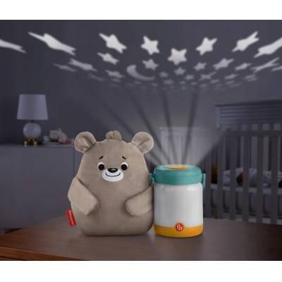 Fisher-Price Miś ze świetlikami Uspokajacz GRR00