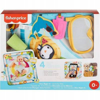 Fisher-Price Mata edukacyjna do zabawy GRR44