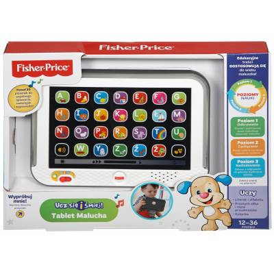 Fisher Price Zabawka Tablet Malucha DHN29