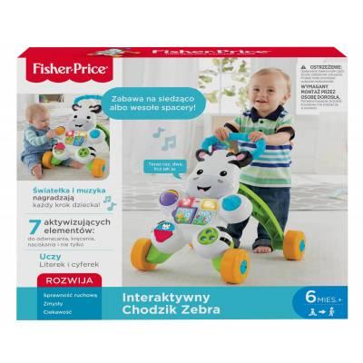 Fisher Price Interaktywny Chodzik Zebra DPL53 /2