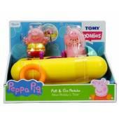 Tomy Świnka Peppa Pływający ponton z figurkami