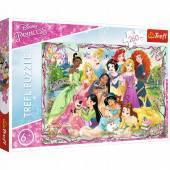Puzzle Trefl 13242 Disney Księżniczki 260 el.