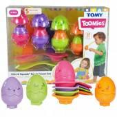 TOMY TOOMIES Jajeczka z łyżeczkami E73082