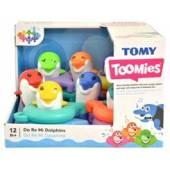 TOMY TOOMIES muzyczne delfinki kąpielowe E6528/3