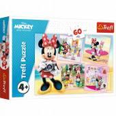 Trefl Disney Urocza Minnie puzzle 60 elementów