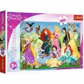 Puzzle 100 elementów. Disney Princess. Trefl