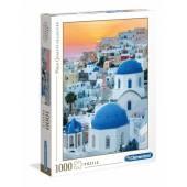 CLEMENTONI puzzle 1000 HQC Santorini 39480