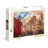 CLEMENTONI puzzle 1500 HQ Vintage London 31807