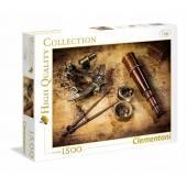 CLEMENTONI puzzle 1500 HQ Course ToThe Treasure 31808