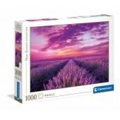 CLEMENTONI puzzle 1000 HQ Lavender Field 39606