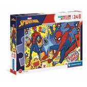 CLEMENTONI puzzle 24 maxi SuperKolor SpiderMan 24216