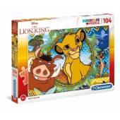 CLEMENTONI puzzle 104 Lion King 27287