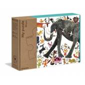 CLEMENTONI Moje puzzle-zwierzęta 24el eko 50165