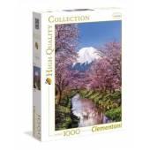 CLEMENTONI puzzle 1000 HQ wulkan Fuji 39418