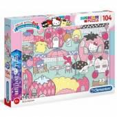 Clementoni puzzle 104 Brilliant Hello Kitty 20172