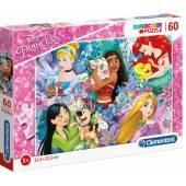 CLEMENTONI puzzle 60 Super Kolor Princess 26995