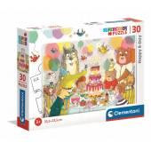 CLEMENTONI puzzle 30 SuperKolor Happy B-Day 20264