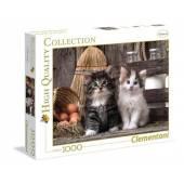 CLEMENTONI puzzle 1000 HQC Kociaki 39340