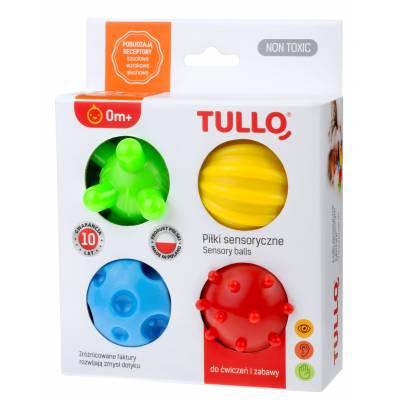 Piłki sensoryczne 4szt Tullo