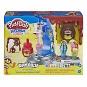 Hasbro Play Doh Tęczowa lodziarnia E6688