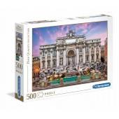 CLEMENTONI puzzle 500 HQ Trevi Fountain 35047