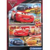 CLEMENTONI puzzle 2x60 Cars 3 07131