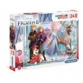 MENTONICLE puzzle 24 maxi Frozen2 super kolor 28513