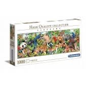 CLEMENTONI puzzle 1000 Panorama Wildfile 39517