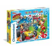 CLEMENTONI puzzle 104 maxi Mickey super kolor 23709