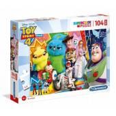 CLEMENTONI puzzle 104 maxi 2 Toy Story4 23741