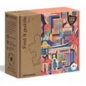 CLEMENTONI puzzle Znajdź to -60el Zima 50160