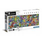 CLEMENTONI puzzle 1000 Panorama Tokidoki 39568