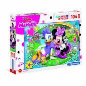 CLEMENTONI puzzle 104 maxi Minnie Happy Helpers 23708