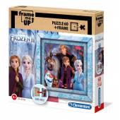 CLEMENTONI puzzle 60el ramkowe Frozen2 38803.