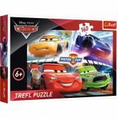 TREFL PUZZLE 160el. Zwycięski wyścig /Disney Cars3 15356