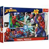 TREFL PUZZLE 160el. Spider-Man na ratunek /Marvel 15357