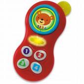 Smily Play Telefon Pan Misiek baterie 000638
