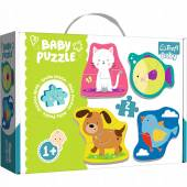 TREFL PUZZLE BABY CLASSIC  8 el. Zwierzątka /Trefl Baby 36074