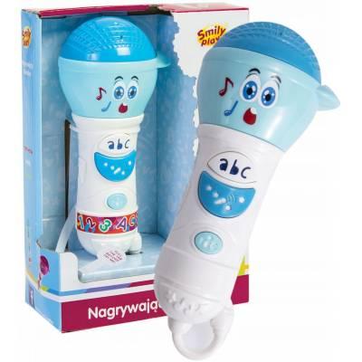 Smily Play Nagrywający mikrofon niebieslki SP83112