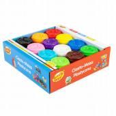 SMILY PLAY CIASTOLINA plastyczna 12 kolorów