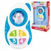 Smily Play Interaktywny Telefon niebieski 83122