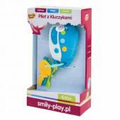 Smily Play Niebieski Pilot z kluczykami niebieski SP83120