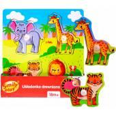 Smily Play Układanka drewniana  SPW83614 36146