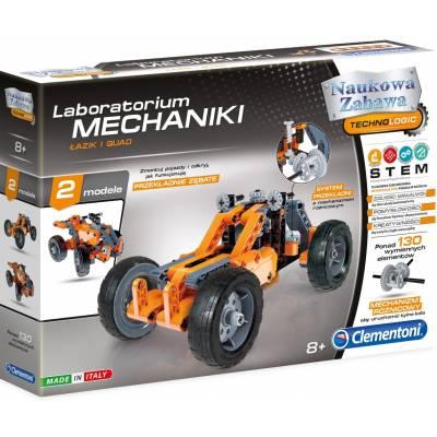 Laboratorium Mechaniki Łazik Quad Clementoni 60954