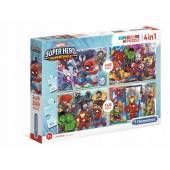Puzzle Clementoni Super Hero Adventures 2x20 i 2x60