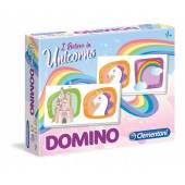 Clementoni Domino Pocket Jednorożec Unicorn