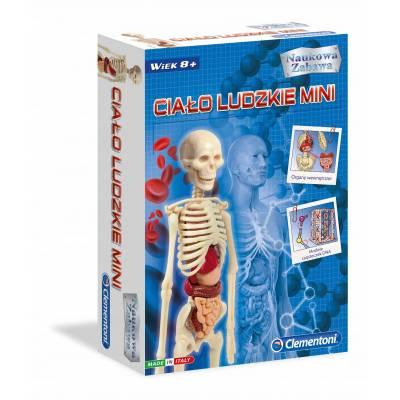 Clementoni Naukowa zabawa Ciało ludzkie mini 50515
