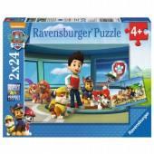 Ravensburger Puzzle 2x 24 el. Psi Patrol Pomocny węch