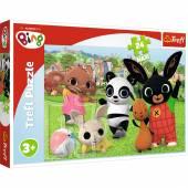 Trefl Puzzle Bing Zabawa w parku 24 maxi el 14306