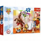 TREFL PUZZLE 30 el.  Gotowi do zabawy/Toy Story 18243***